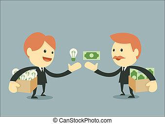 Businessman Trading