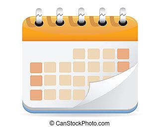 Calendar Vector for web design