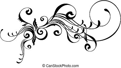 caligraphic ornament