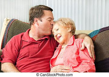 Caring For Elderly Mother