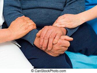 Caring Hands For Elderly