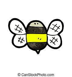 cartoon bumble bee