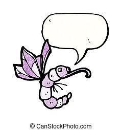 cartoon funny bug