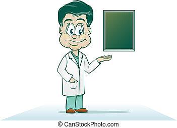 Cartoon Physician
