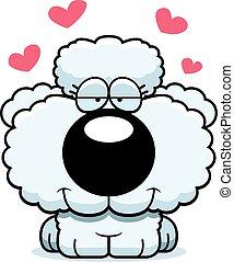 Cartoon Poodle Love