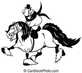 cartoon rider