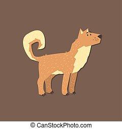 Cartoon Shepherd Dog Image