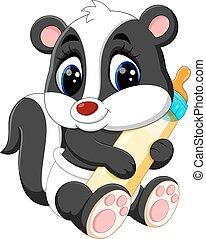 Cartoon skunk