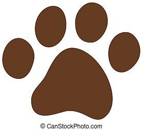 cat dog paw