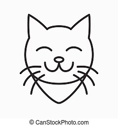 Cat Vector Logo
