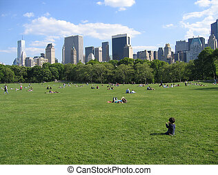 New York City Central Park View - Summer 2005