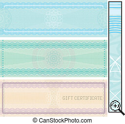 Certificate template, vector without gradients ,easy editable colors
