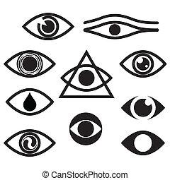 character set - eyes