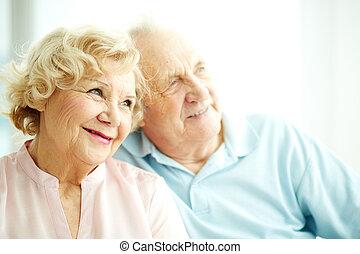 Charming elderly female
