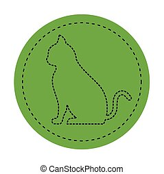 chat icon on green background