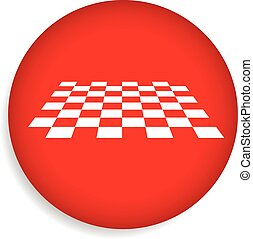 Checkered surface