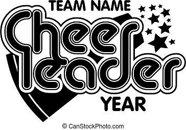 cheerleader team design