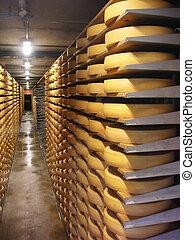 cheese warehouse