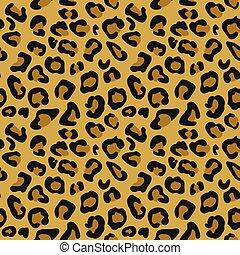 Cheetah Animal Print Pattern Seamless Tile