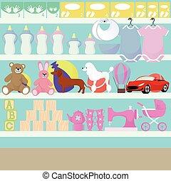 Children goods shop