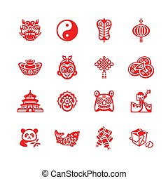 Chinese icons | MICRO series