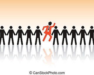 the background of employment issue to choose the best employee