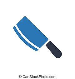chop glyph color icon