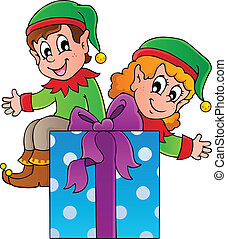 Christmas elf theme 3