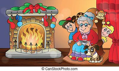 Christmas indoor theme 7