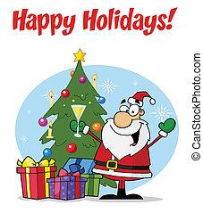 Christmas Santa Greetings