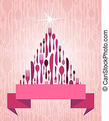 Christmas Tree Cutlery