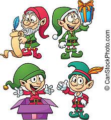 Christmasl elves