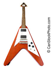 ''Flying V'' Guitar