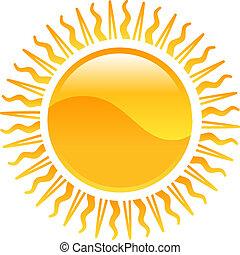 Clipart sun icon