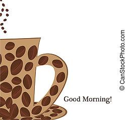 coffee cup good morning