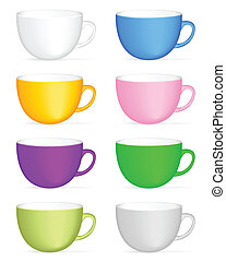 coffee cup set 2
