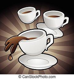 Coffee Cups Clip Art