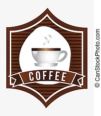 coffee graphic design , vector illustration
