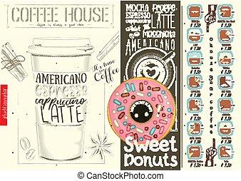 Coffee Menu Design