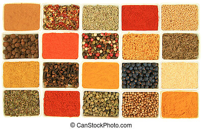 Colorful seasoning