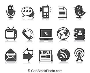 Communication icons