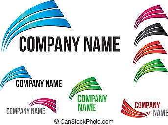 Company (Business) Logo Arcs Design