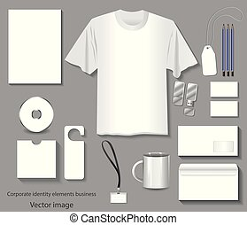 company corporate identity templates vector image 10eps