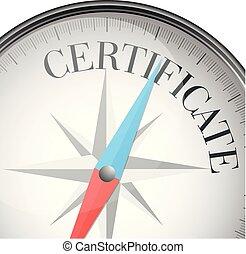 compass concept certificate