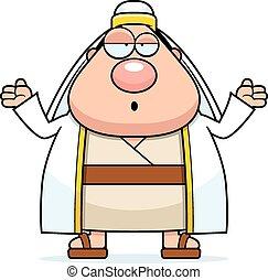 Confused Cartoon Shepherd