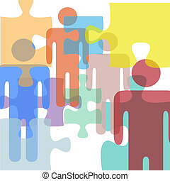 Confusion people problem solution puzzle mystery