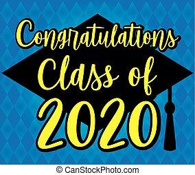 Congratulations Class of 2020 Blue Banner