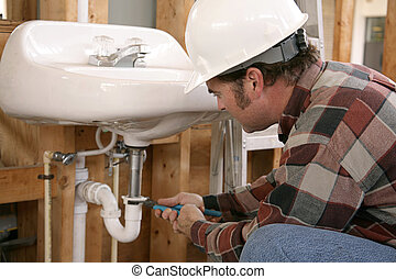 Construction Plumbing Work