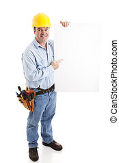 Construction Worker - Sign