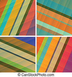 fine set of royalty free abstract backgrounds